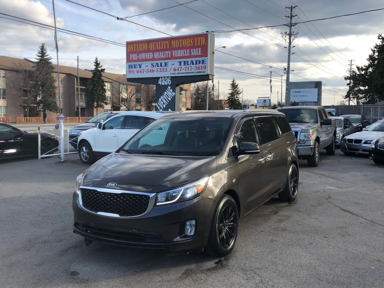 Ontario Quality Motors >> 2015 Kia Sedona Ontario Quality Motors Ltd