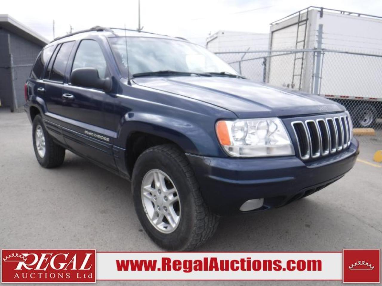 Photo of Blue 2000 Jeep Grand Cherokee