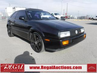 Used 1991 Volkswagen Corrado G60 2D Sedan for sale in Calgary, AB