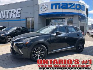 Used 2017 Mazda CX-3 GT-AWD/NAVIGATION/BACKUP CAM/SUNROOF/ONE OWNER!!! for sale in Toronto, ON