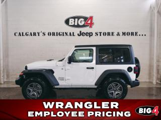 Used 2019 Jeep Wrangler Sport 4X4 for sale in Calgary, AB