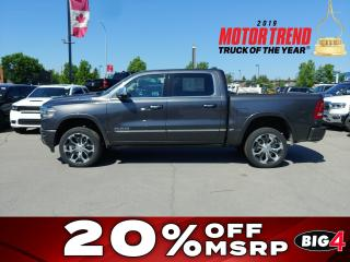 New 2019 RAM 1500 Limited for sale in Calgary, AB