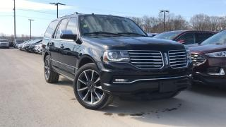 Used 2017 Lincoln Navigator RESERVE LEATHER NAVIGATION HEATED SEATS for sale in Midland, ON