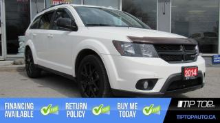 Used 2014 Dodge Journey SXT ** Clean CarFax, 7 Seater, 3.6L V6 ** for sale in Bowmanville, ON