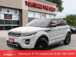 Used 2015 Land Rover Evoque Dynamic *RARE NW8 PACKAGE*No Accidents, for sale in Toronto, ON
