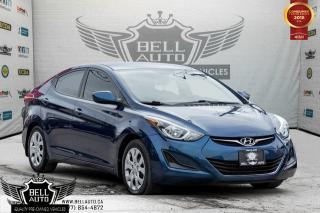 Used 2016 Hyundai Elantra L+, BLUETOOTH, VOICE COMMAND, USB, A/C, HEATED SEATS for sale in Toronto, ON