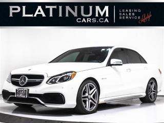 Used 2015 Mercedes-Benz E-Class E63 AMG S-MODEL, 4MATIC, NAVI, PANO, CAM, MASSAGE for sale in Toronto, ON