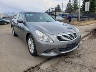 Used 2012 Infiniti G37X  AWD-328HP-LEATHER-SUNROOF-LOW MONTHLY PAYMENTS!! for sale in Edmonton, AB