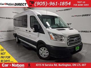 Used 2017 Ford Transit XLT  12-PASSENGER  NAVI  BACK UP CAM  for sale in Burlington, ON