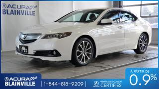 Used 2015 Acura TLX SH-AWD ** ÉLITE ** ACHAT A PARTIR DE 0,9 for sale in Blainville, QC