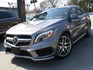 Used 2015 Mercedes-Benz GLA GLA 45 AMG~ONE OWNER~NAVI~PANORAMA~79KMS !! for sale in Burlington, ON