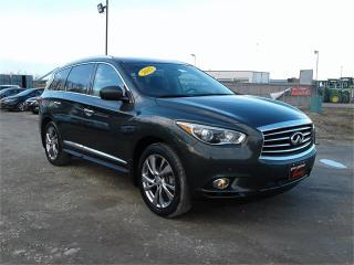 Used 2013 Infiniti JX35 Premium for sale in Oak Bluff, MB