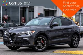Used 2018 Alfa Romeo Stelvio Sport|Driver.Assist,Cold.Wthr,Sport,Ambient.Light.Pkgs| for sale in Thornhill, ON