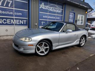 Used 2003 Mazda Miata MX-5 for sale in Boisbriand, QC