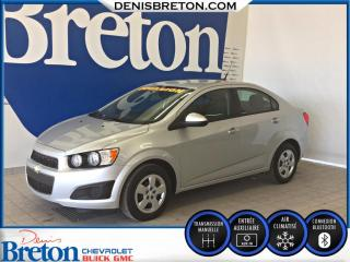 Used 2014 Chevrolet Sonic LS for sale in St-Eustache, QC