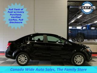 Used 2018 Chevrolet Sonic LT, Back Up Camera, Apple Car Play for sale in Edmonton, AB