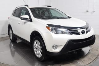 Used 2015 Toyota RAV4 Ltd Awd Cuir Toit for sale in L'ile-perrot, QC