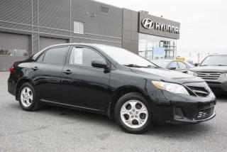 Used 2012 Toyota Corolla Berline 4 portes, boîte manuelle, CE for sale in St-Hyacinthe, QC