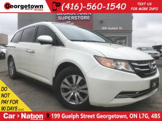 Used 2016 Honda Odyssey EX PWR DOORS| B/U CAM| PUSH START| LOW KMS for sale in Georgetown, ON