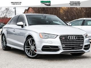 Used 2015 Audi S3 2.0T Technik for sale in North York, ON