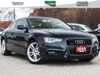 Used 2013 Audi A5 2.0T Premium for sale in North York, ON