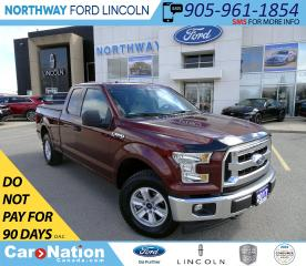 Used 2017 Ford F-150 XLT | SUPERCAB | BACK UP CAM | TONNEAU COVER | for sale in Brantford, ON