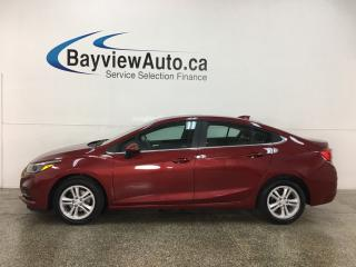 Used 2017 Chevrolet Cruze LT Auto - ONSTAR! SUNROOF! REMOTE START! APPLE CARPLAY! ANDROID AUTO! + MORE! for sale in Belleville, ON