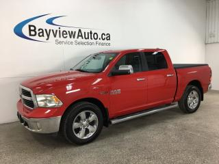Used 2015 RAM 1500 SLT - BIG HORN! ECODIESEL! 4X4! 20' CHROMES! + MORE! for sale in Belleville, ON