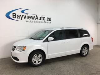 Used 2018 Dodge Grand Caravan Crew - HTD LTHR! NAV! DUAL A/C! PWR DOORS! PWR LIFTGATE! + MORE! for sale in Belleville, ON