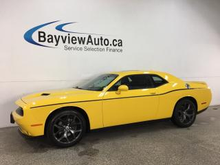 Used 2018 Dodge Challenger SXT - HTD/COOLED LTHR! ROOF! 8.4' TOUCHSCREEN! ALLOYS! for sale in Belleville, ON