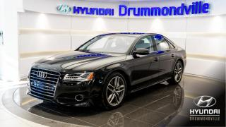 Used 2017 Audi A8 A8 + GARANTIE + HUD + NAVI + 360 for sale in Drummondville, QC