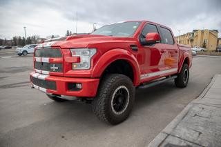 Used 2015 Ford F-150 Lariat 650HP Shelby Edition! 4x4 Supercrew w/ super charged 5.0L, Custom Lift, Tire and Rim package, Raptor for sale in Okotoks, AB