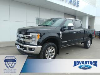 Used 2017 Ford F-350 Lariat Diesel - Leather heated / cooled seats -Clean Carfax for sale in Calgary, AB