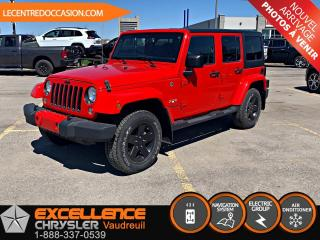 Used 2017 Jeep Wrangler UNLIMITED SAHARA *GPS* for sale in Vaudreuil-Dorion, QC