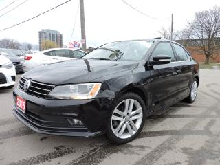 Used 2015 Volkswagen Jetta Highline LEATHER SUNROOF for sale in BRAMPTON, ON
