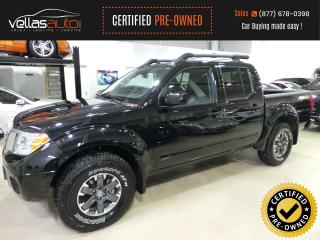 Used 2019 Nissan Frontier PRO-4X| 4X4| CREW CAB| NAVI| LEATHER for sale in Vaughan, ON
