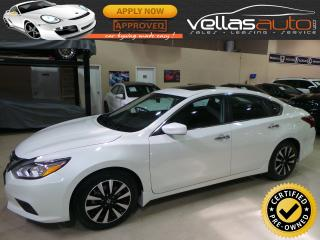 Used 2018 Nissan Altima 2.5 SV| SUNROOF| HEATED SEATS| REMOTE STARTER for sale in Vaughan, ON