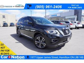 Used 2017 Nissan Pathfinder PLATINUM | LEATHER | NAV | PANO ROOF | 7 PASSENGER for sale in Hamilton, ON