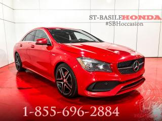 Used 2017 Mercedes-Benz CLA250 CLA 250 berline 4 portes 4MATIC for sale in St-Basile-le-Grand, QC