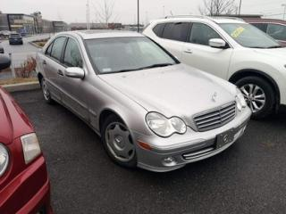 Used 2005 Mercedes-Benz C-Class AWD for sale in Brossard, QC