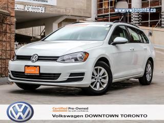 Used 2015 Volkswagen Golf Sportwagon SPORTWAGEN TRENDLINE MANUAL for sale in Toronto, ON