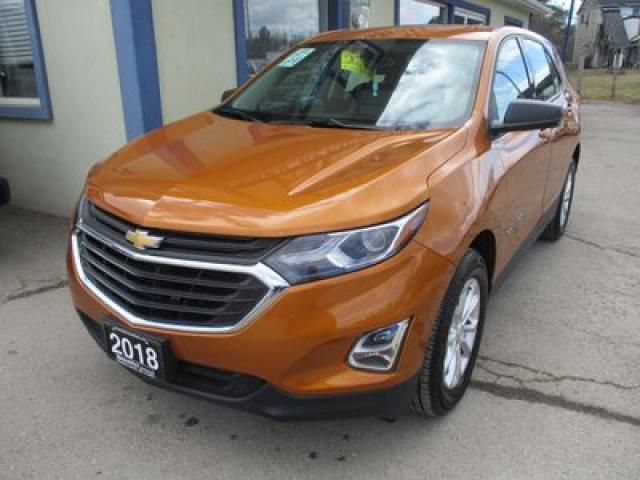 2018 Chevrolet Equinox ALL-WHEEL DRIVE LS MODEL 5 PASSENGER 1.5L - TURBO.. FACTORY WARRANTY.. HEATED SEATS.. BACK-UP CAMERA.. BLUETOOTH SYSTEM..