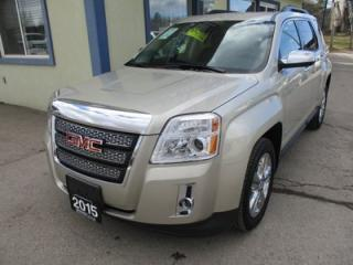 Used 2015 GMC Terrain LOADED SLT-1 MODEL 5 PASSENGER 2.4L - ECO-TEC.. LEATHER.. HEATED SEATS.. TOUCH SCREEN.. BACK-UP CAMERA.. BLUETOOTH SYSTEM.. PIONEER AUDIO.. for sale in Bradford, ON