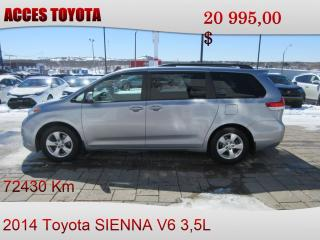 Used 2014 Toyota Sienna LE 8-Passenger V6 for sale in Rouyn-Noranda, QC