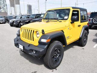 New 2019 Jeep Wrangler SPORT for sale in Concord, ON