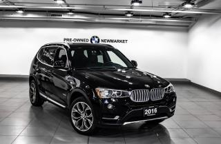 Used 2016 BMW X3 xDrive28i -PANO SUNROOF|NAV| for sale in Newmarket, ON