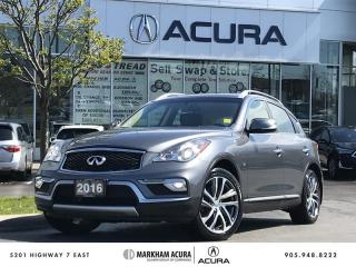 Used 2016 Infiniti QX50 Wagon Alloy Wntr Tire Pkg, Navi, 360 Cam, Well Maintained for sale in Markham, ON