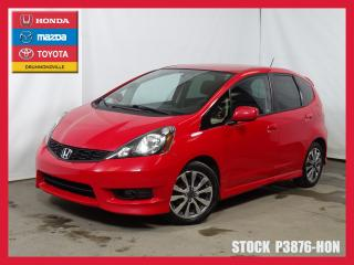 Used 2014 Honda Fit Sport+mags+a/c+bluet for sale in Drummondville, QC
