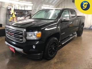 Used 2016 GMC Canyon SLT * Crew Cab * 4WD * Navigation * Leather * Mayhem aftermarket Alloys w/ Bridgestone blizzak tires * Bose sound system * Chevy INTELLLINK touch scre for sale in Cambridge, ON