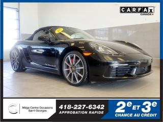 Used 2017 Porsche Boxster 718 for sale in St-Georges, QC